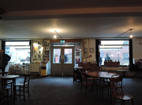 Cafe Otoの入り口